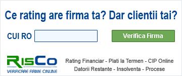 RisCo - Verificare firme online